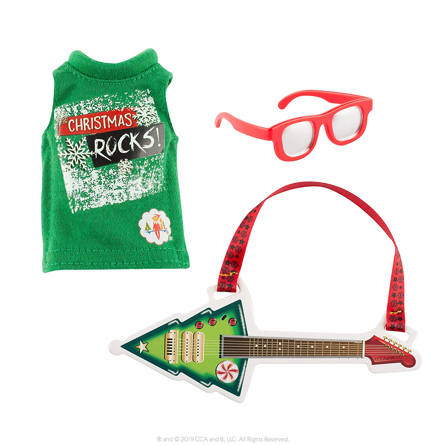 The Elf On The Shelf Claus Couture North Pole Rock & Roll, Green