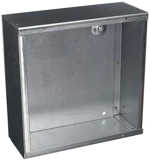 """4x4/"""" Galvanized Electrical Junction Box Cover With Cut Out 917-H"""