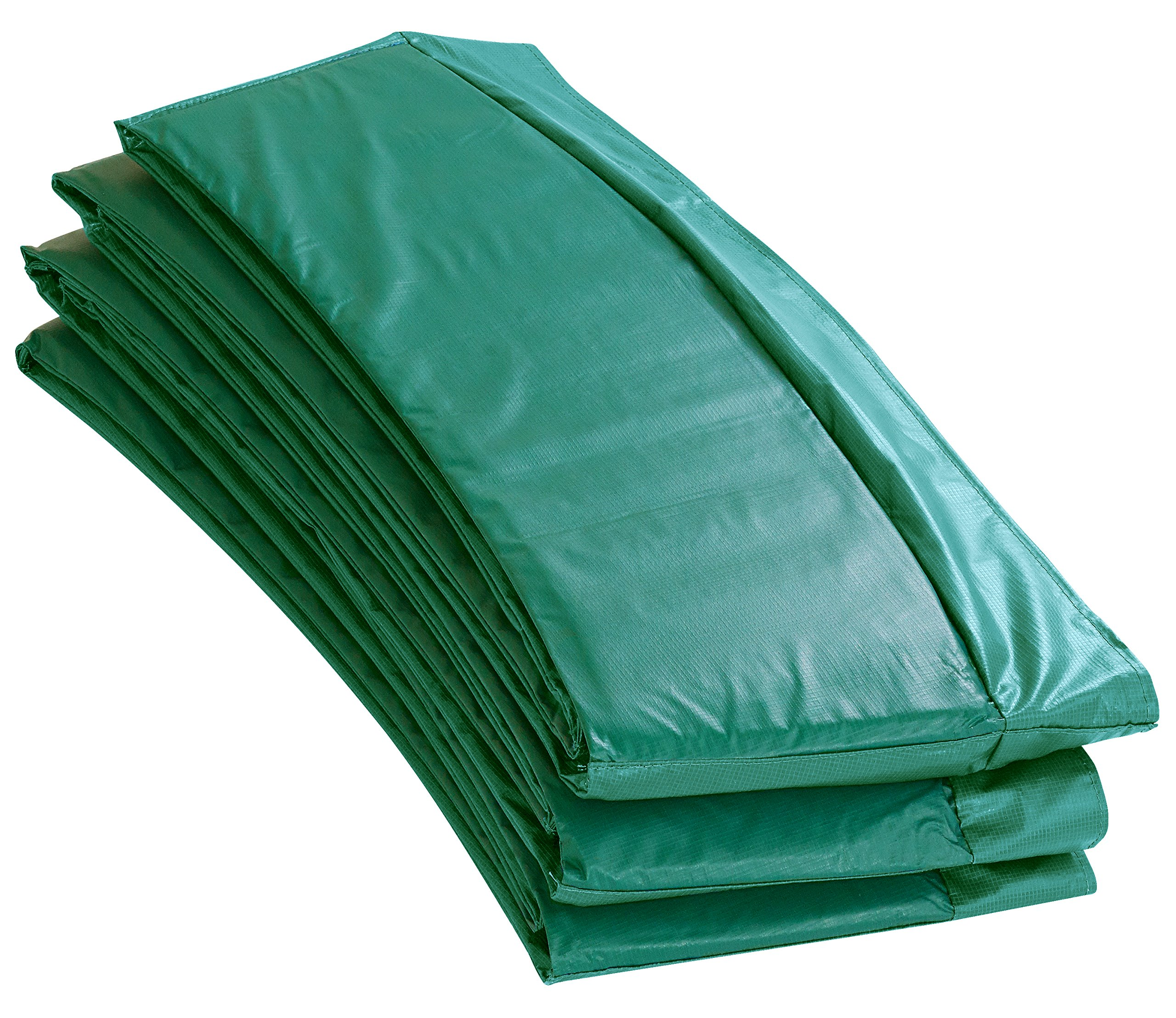 Upper Bounce 12' Super Trampoline Replacement Safety Pad With Spring Cover Fits 12 FT Round Trampoline Frames With 10 wide In Green Color
