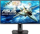 ASUS VG278Q 27-Inch eSport FHD Gaming Monitor (1980 x 1080, 1 ms, Upto 144 Hz, DP, HDMI, DVI, FreeSync, Low Blue Light, Flicker Free, TUV Certified) - Black