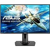 """Asus VG278Q - Monitor Gaming de 27"""" (68,6 cm, Full HD, Tiempo de Respuesta 1 ms, 144 Hz, Adaptive-Sync, tecnología antiparpadeo y luz Azul de Baja Intensidad), Negro"""