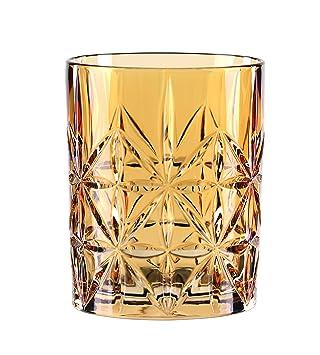 345 ml Whisky-Becher 0097441-0 Highland Bernstein Kristallglas Spiegelau /& Nachtmann