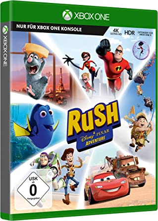 Microsoft Rush: A Disney-Pixar Adventure, Xbox One vídeo - Juego ...