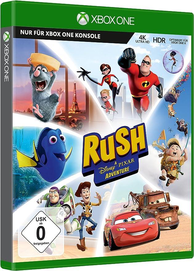 Microsoft Rush: A Disney-Pixar Adventure, Xbox One vídeo - Juego (Xbox One, Xbox One, Familia, E10 + (Everyone 10 +)): Amazon.es: Videojuegos
