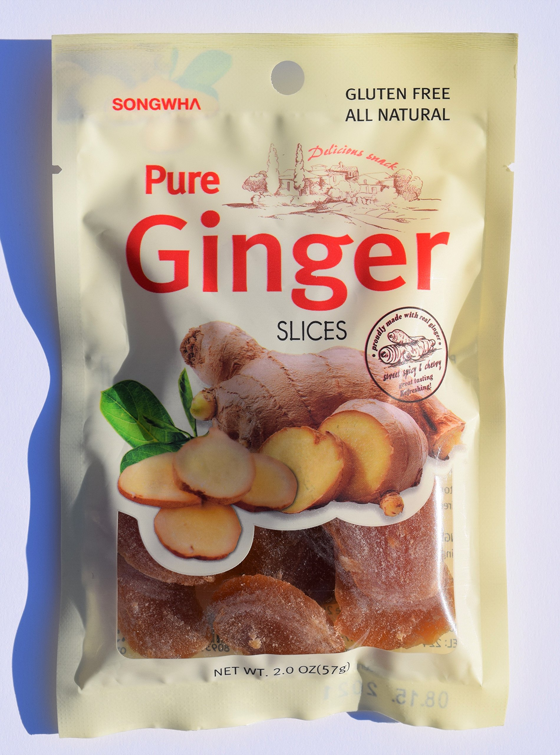 Pure Ginger Slices (Pack of 3) Made in Korea