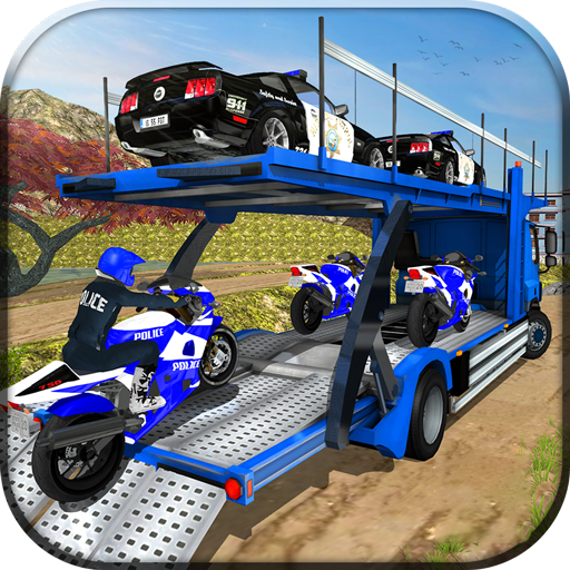 (OffRoad Police Transport Truck)