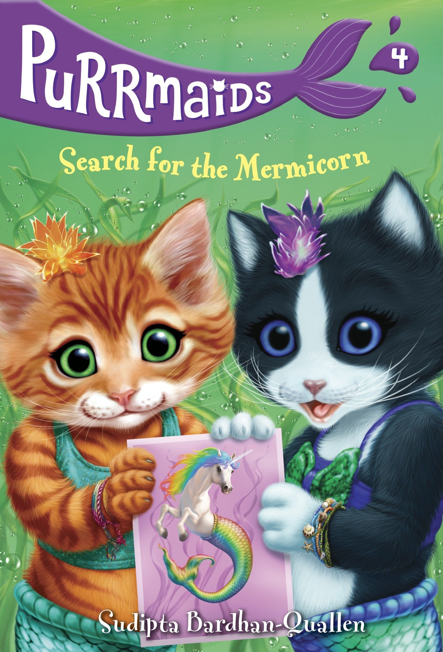 Read Online Purrmaids #4: Search for the Mermicorn pdf