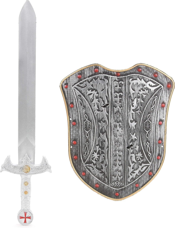 Generique - Kit Escudo y Espada Caballero para niño: Amazon.es: Electrónica
