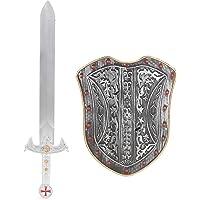 Kit escudo y espada caballero niño - Única