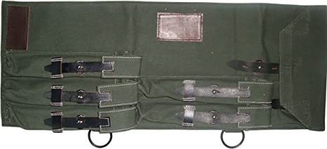 warreplica WWII Alemán MP 40 / MP40 subfusil Lona y Estuche de Cuero, MP40 Schmeisser: Amazon.es: Deportes y aire libre