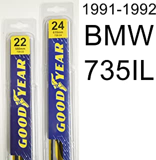 "product image for BMW 735IL (1991-1992) Wiper Blade Kit - Set Includes 22"" (Driver Side), 24"" (Passenger Side) (2 Blades Total)"
