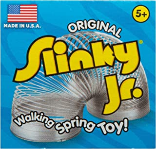 product image for The Original Slinky Brand Metal Slinky Jr. Kids Spring Toy, Multi
