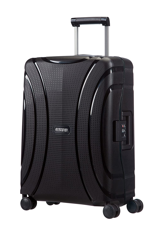American Tourister Durchläufer Koffer, 55 cm, 37 L, Jet Black