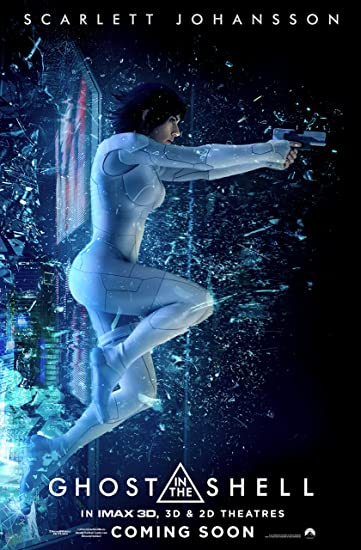 Amazon Com Ghost In The Shell Movie Poster Limited Print Photo Scarlett Johansson Size 24x36 2 Everything Else