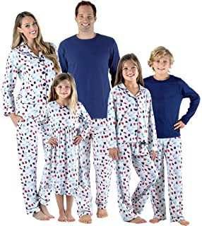 SleepytimePjs Holiday Family Matching Hot Cocoa PJs Sets for The Family b7176838c