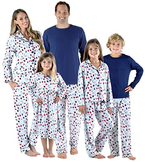 98d336e524 SleepytimePjs Holiday Family Matching Hot Cocoa PJs Sets for The ...