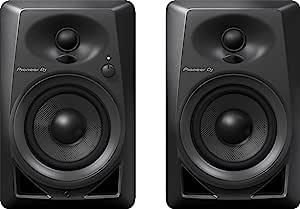 مكبر صوت كومباكت اكتيف مونيتور من بايونير DJ DM-40 - اسود
