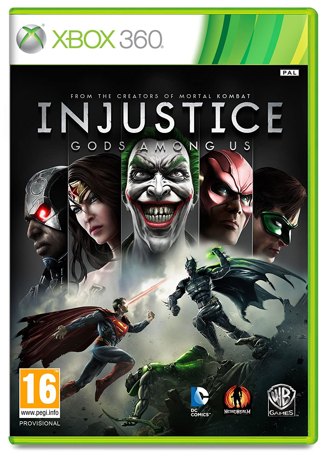 Injustice Gods Among Us Xbox 360 Amazoncouk PC Video Games