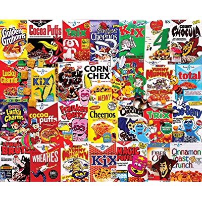White Mountain Puzzles What's for Breakfast - 400 Piece Jigsaw Puzzle: Toys & Games