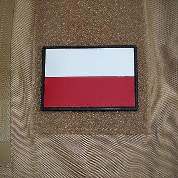 Copytec Polen Polska Fahne Abzeichen Airsoft Wojsko Polskie 3d Rubber Patch 5x8cm 17047 Küche Haushalt