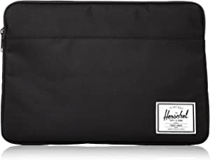 Herschel Anchor Sleeve for MacBook/iPad, Solid Black, 15-Inch