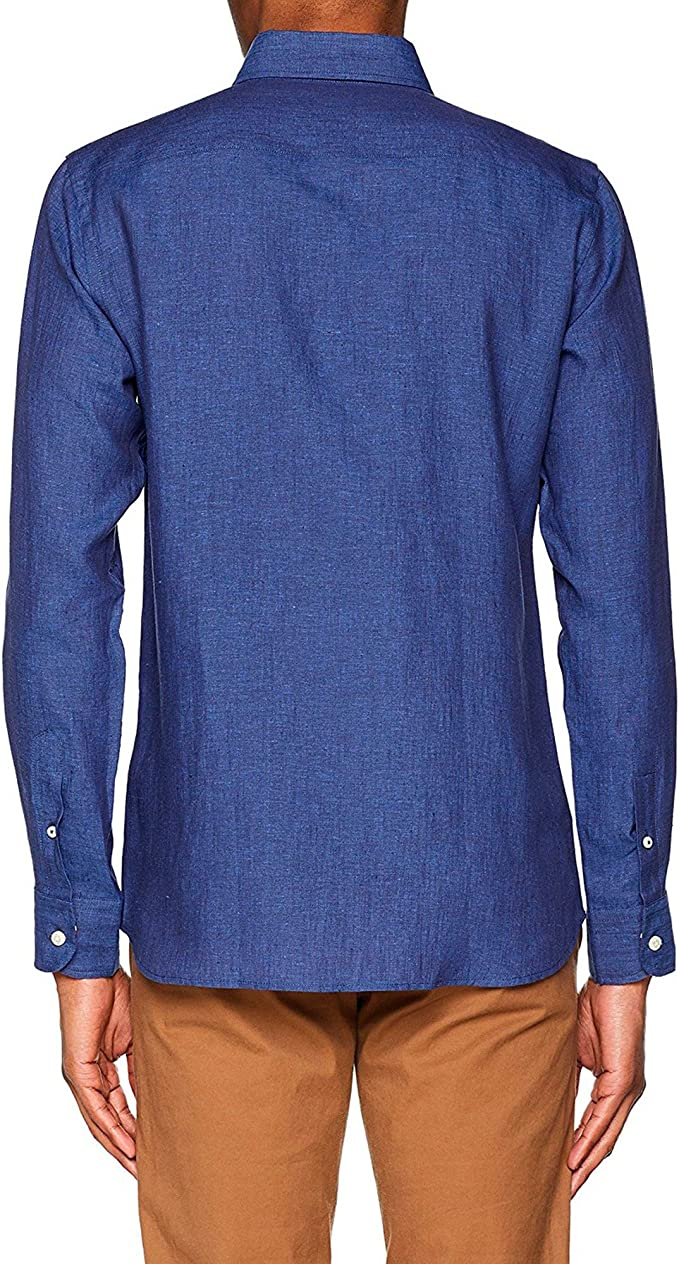 El Ganso 1050s180053 Camisa Casual, Azul (Marino), Medium ...
