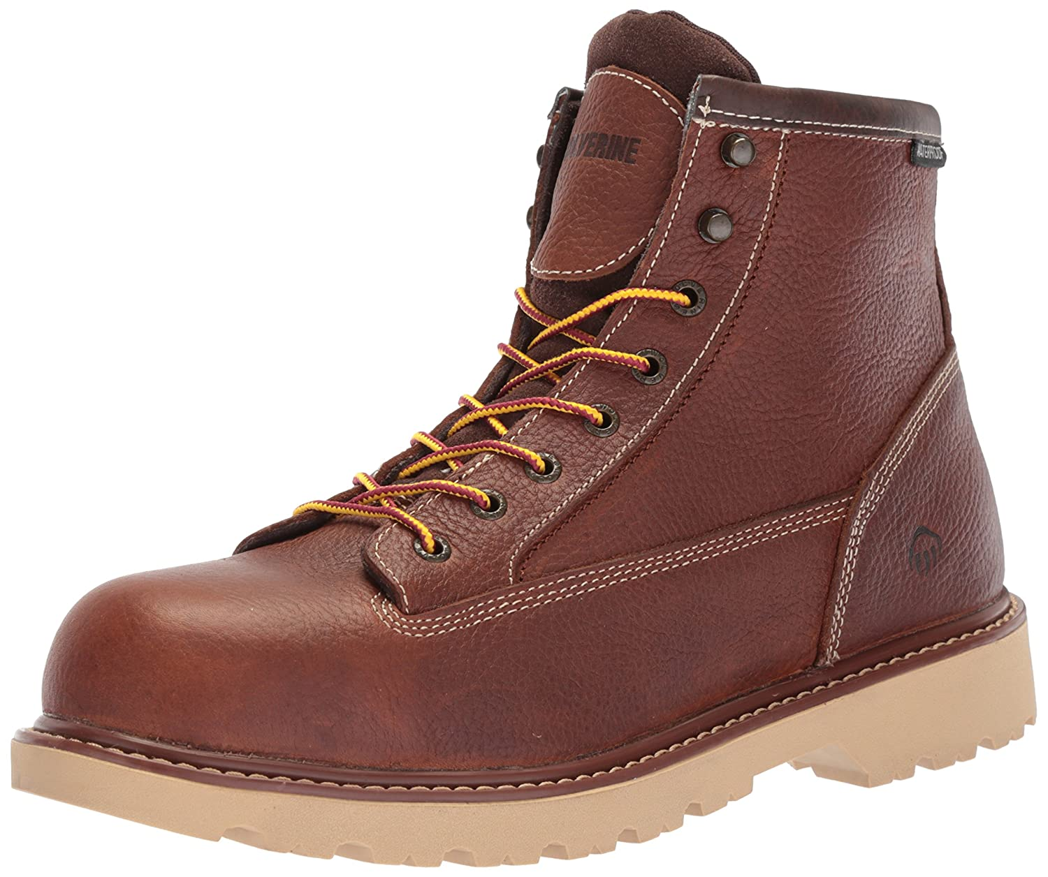 Wolverine メンズ Floorhand II Waterproof Steel-Toe 6