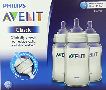 Amazon.com: Philips AVENT Biberón CLASSIC Medium Flow: Baby