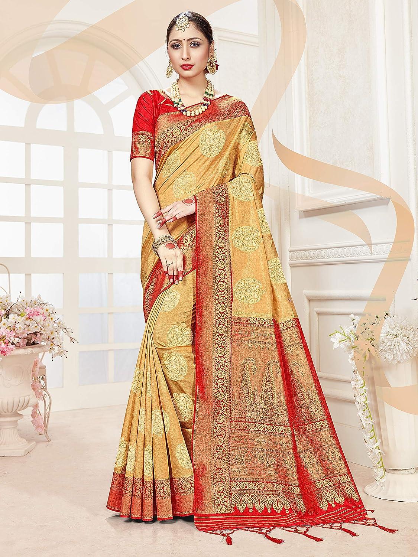 Pink Banaras Brocade Art Silk New Designer Stitched Readymade Blouse Saree Choli Top Tunic Sari Blouse For Bridal Wedding Wear Blouse