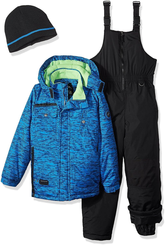 10b4768bae5b iXTREME Boys Tonal Print Snowsuit W Gaiter  Amazon.ca  Clothing ...