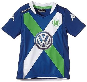 Kappa caso – Camiseta de fútbol (manga corta), diseño del Vfl Wolfsburg,