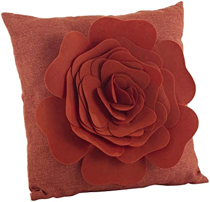 Amazon.com: SARO LIFESTYLE FT331.TC17S Felt & Roses ...