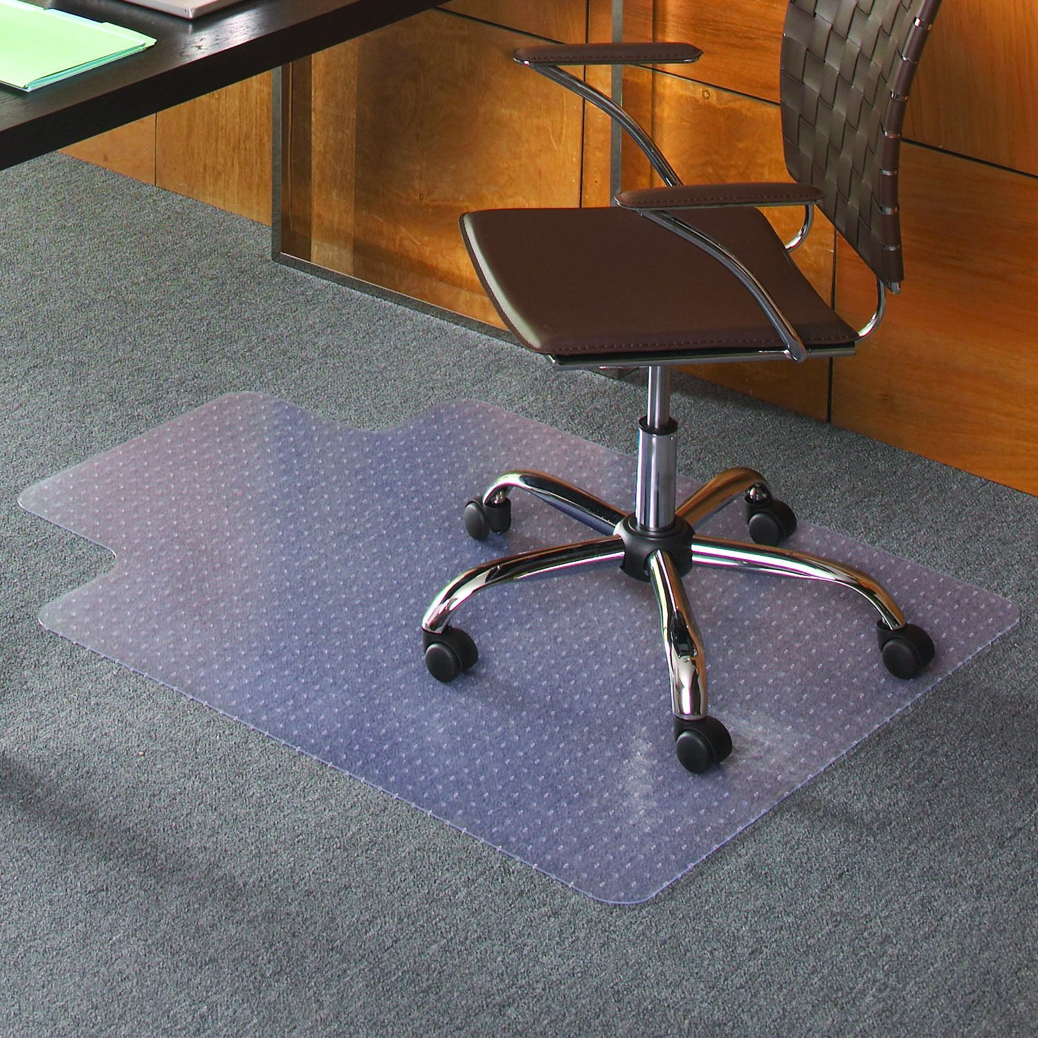 Amazon Staples Flat Pile Carpet Chair Mat Lip Carpet