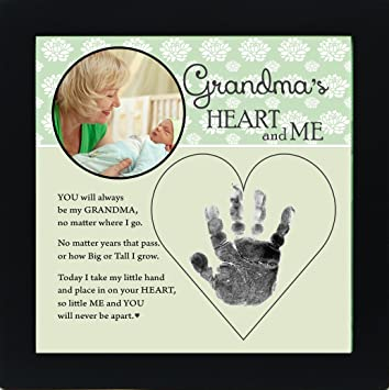Amazoncom Baby Child Keepsake Handprint Frame With Poetry Mommy