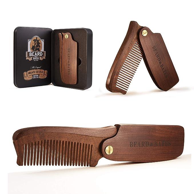 Beard & Bates | The Original Folding Wooden Beard Hair Comb