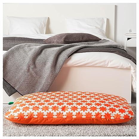 Ikea Asia Lurvig Cuscino Arancione Bianco Amazonit Prodotti Per