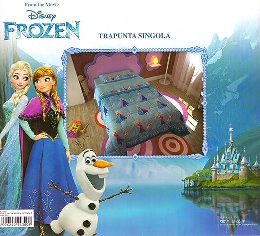 8 opinioni per Trapunta Disney Frozen copriletto trapuntato autunno inverno 180x260cm