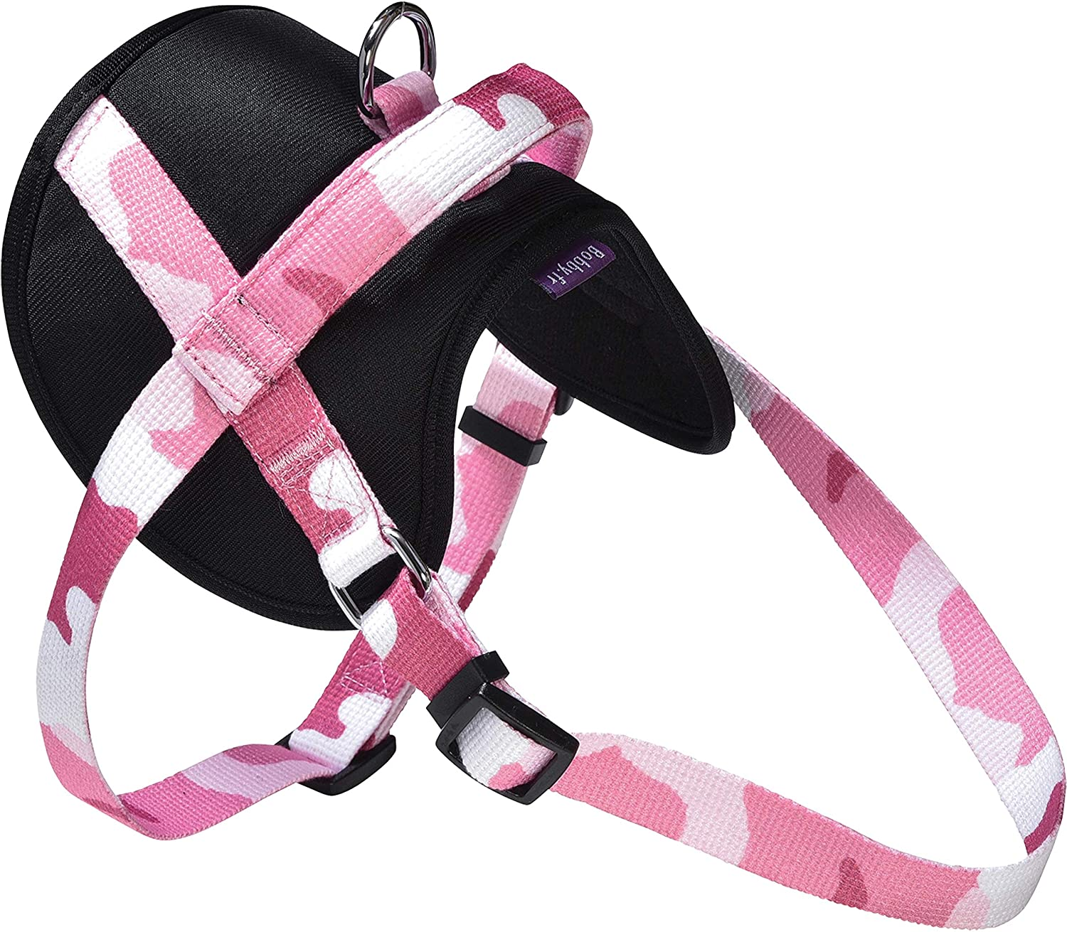 Bobby Harnais Easy pour Chien Camouflage Rose Taille S