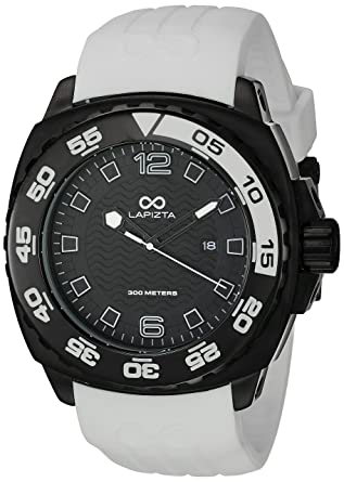 LAPIZTA Audax 300M Divers Watch – 48mm White and Black L22.1401