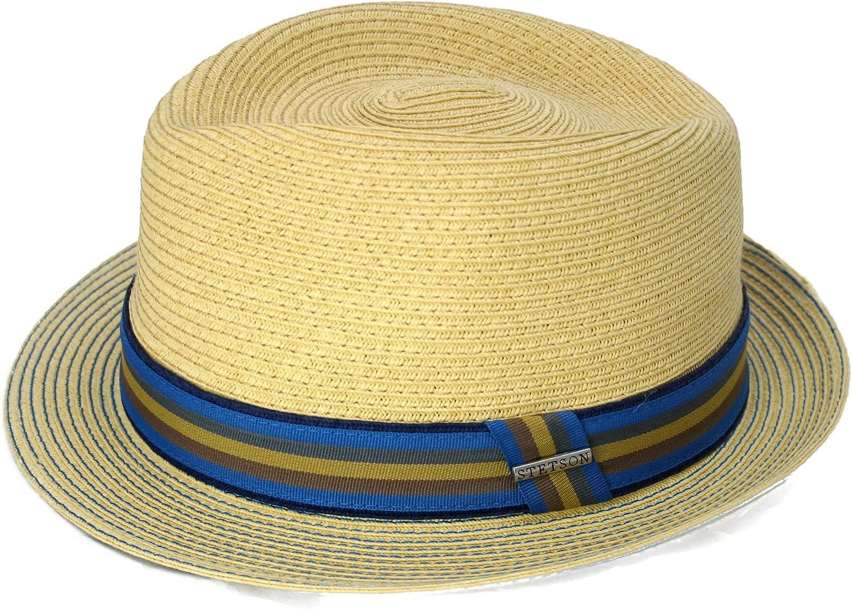 Stetson Munster Toyo - Sombrero Trilby para hombre - natural
