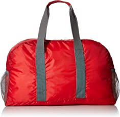 Se bg-bbp102bk abatible Day Pack, color negro, BG-DB103R, Duffel, Rojo