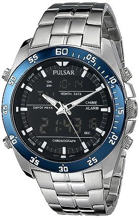 amazon com pulsar men s pw6013 analog display japanese quartz rh amazon com Women's Pulsar Digital Watches with Year Pulsar Watches Men