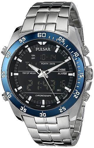 amazon com pulsar men s pw6013 analog display japanese quartz rh amazon com Pulsar PQ2011 Pulsar Watch Manual