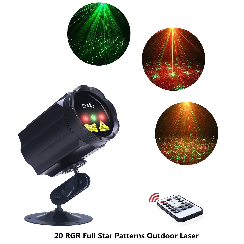 Amazon.com: X\'mas Outdoor Decoration RGR Laser Light Star Shower ...