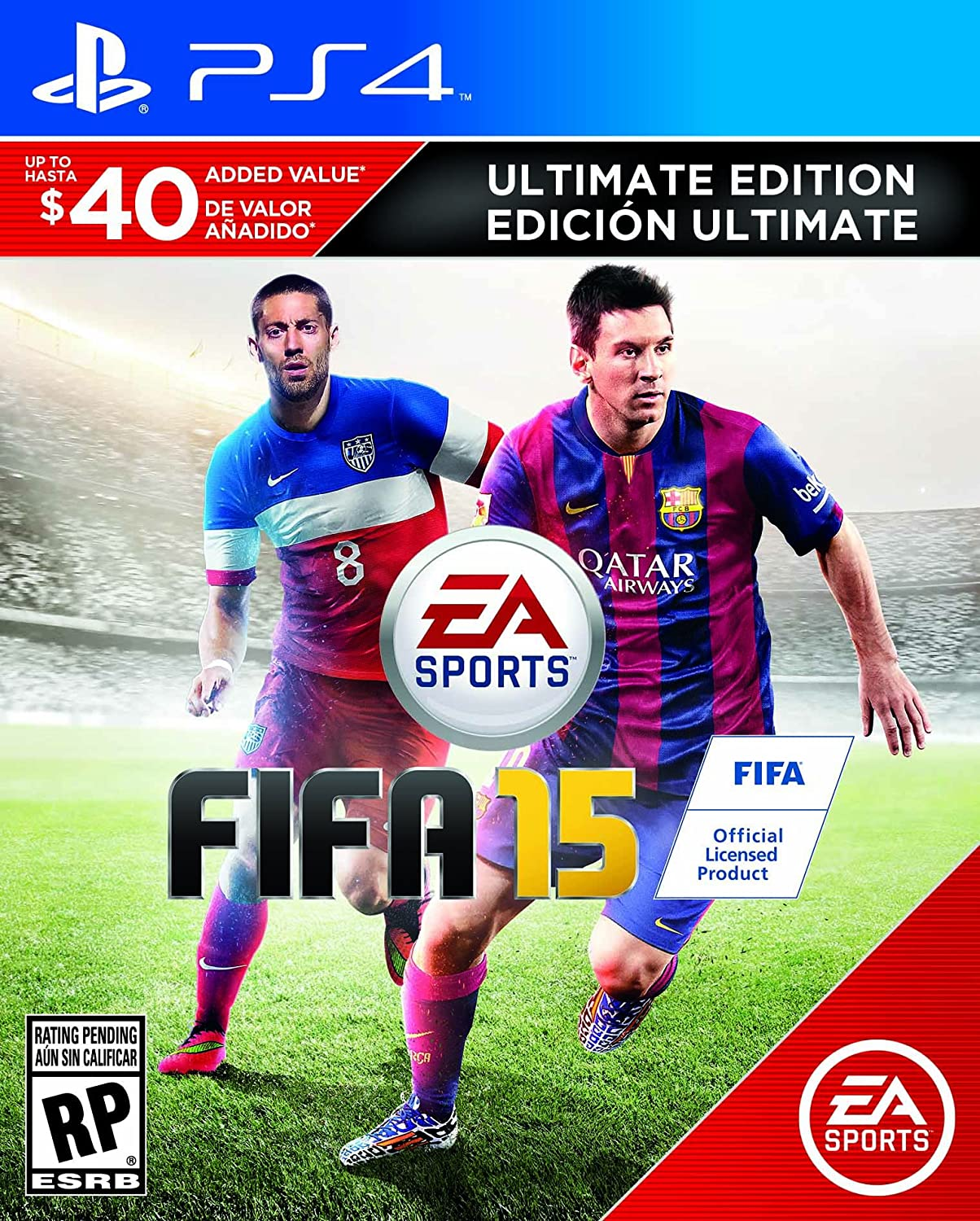 a2652845c Amazon.com  FIFA 15 (Ultimate Edition) - PlayStation 4  Video Games