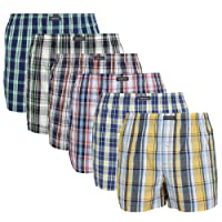 Lower East American Style Boxer Homme, Lot DE 6