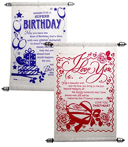 Birthday Gift For Girlfriend Love Greeting Cards Amazonin Office Products