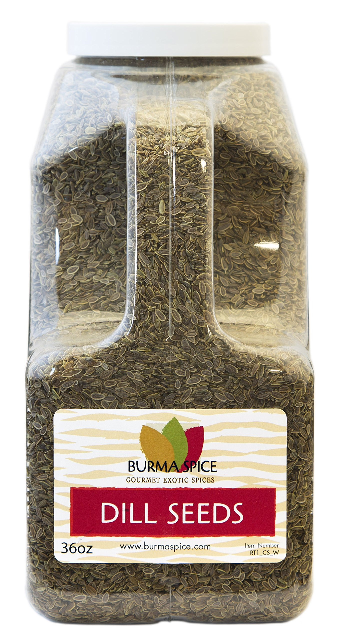 Dill Seeds : Dried Whole Kosher Herb : Great for Pickling Spice (36oz.)