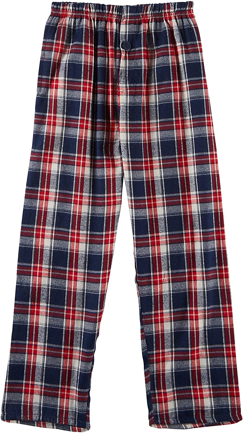 Championship Gold Big Boys Plaid Flannel Pajama Pants