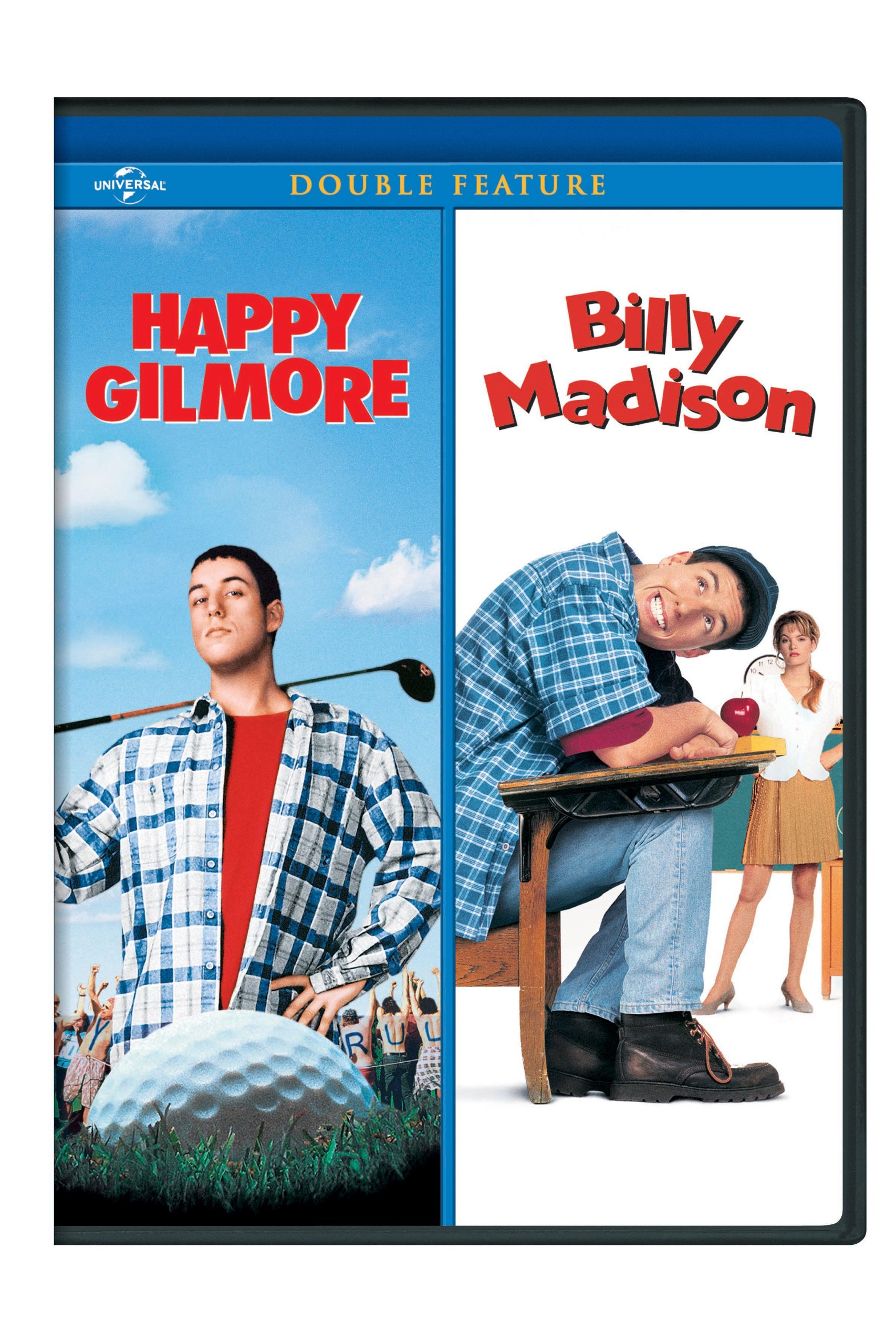 DVD : Happy Gilmore / Billy Madison (Widescreen, Snap Case)